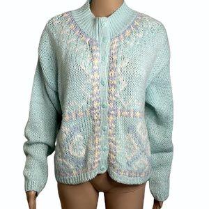 VINTAGE   Jamie Scott hand knitted cardigan